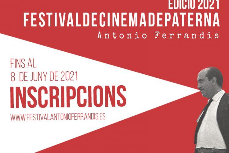 Inscripcions Festival Cine Paterna 2021